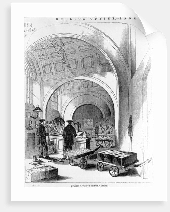 Bullion Office - Receiving Office, Bank of England by English School