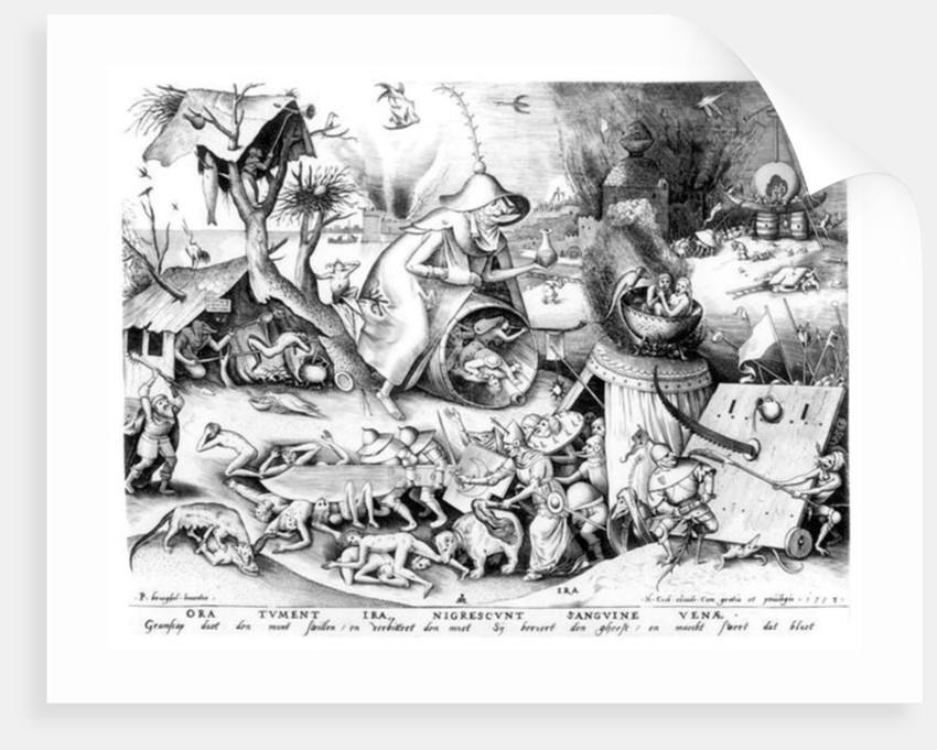 Anger (Ira) by Pieter Bruegel the Elder