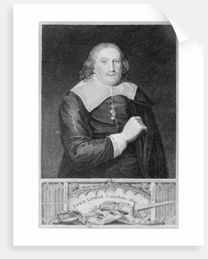 John Lowin, actor and comedian by English School
