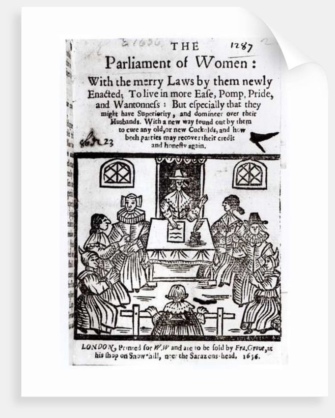 The Parliament of Women by English School
