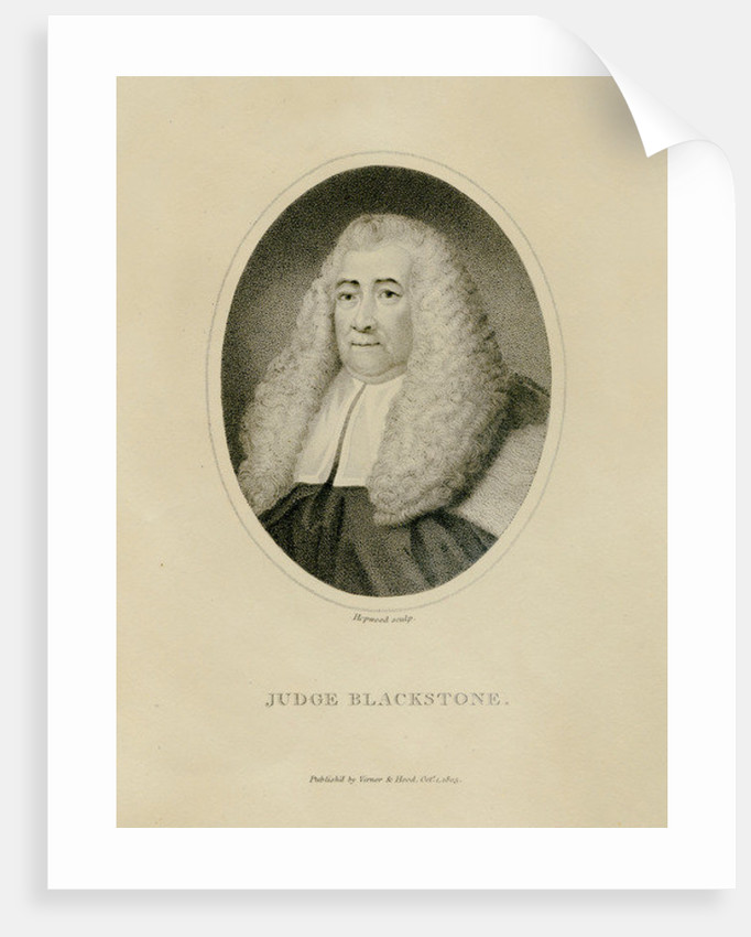 Judge Blackstone by English School