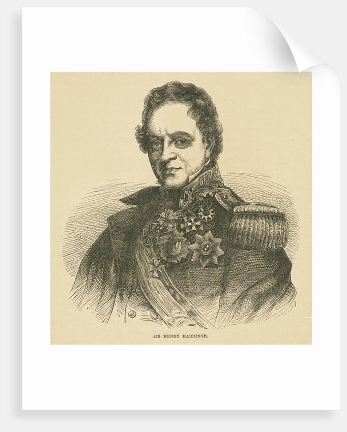 Henry Hardinge, 1st Viscount Hardinge of Lahore by English School