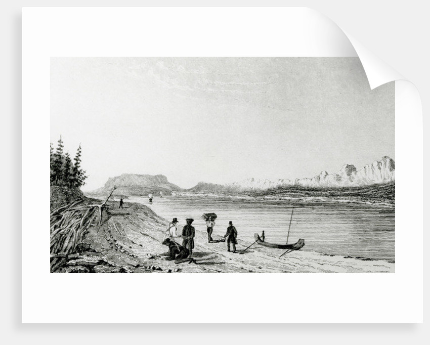 Part of the Rocky Mountains, Mackenzie's River by George Back