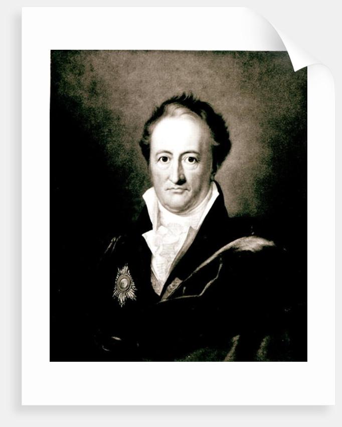 Johann Wolfgang Goethe by German School