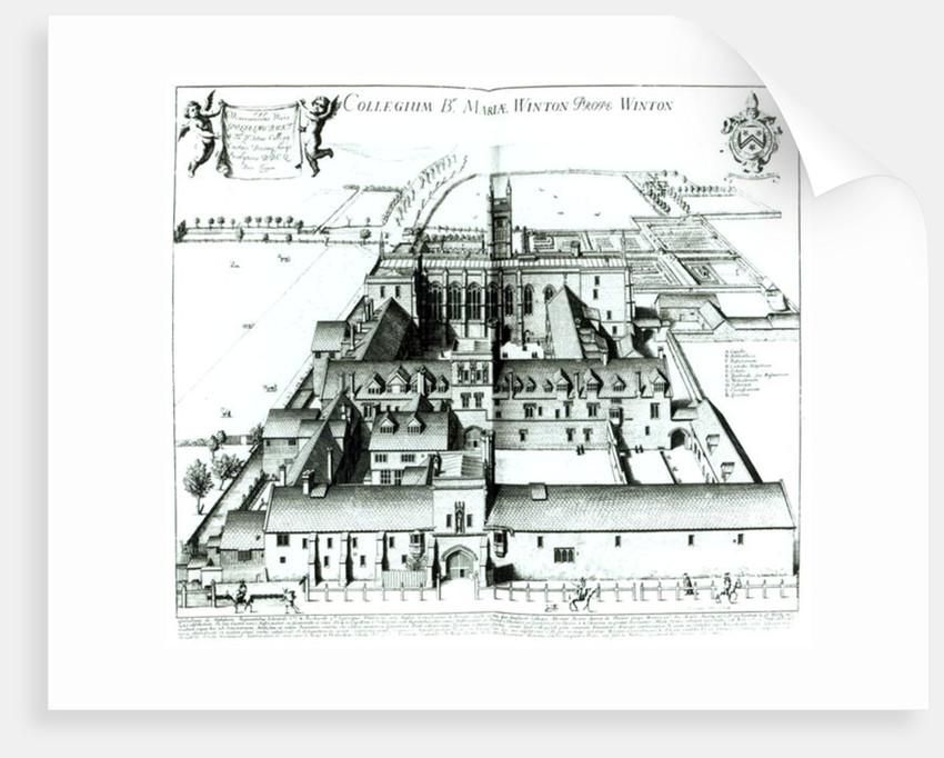 Winchester College by David Loggan