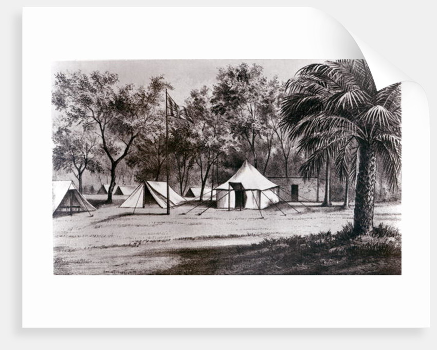 Lord Wolseley's Camp at Korti by English School