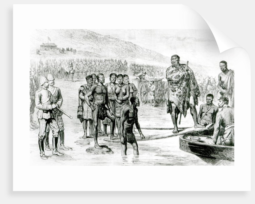 The Captivity of Cetewayo by Crawford Caffin