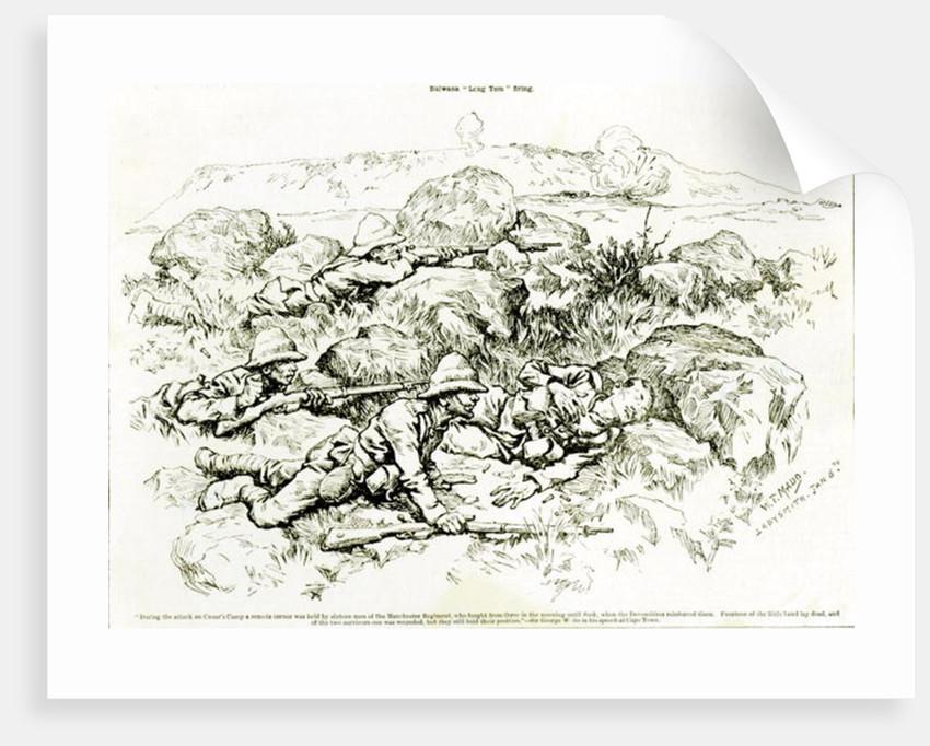 "Bulwana ""Long Tom"" Firing by William T. Maud"