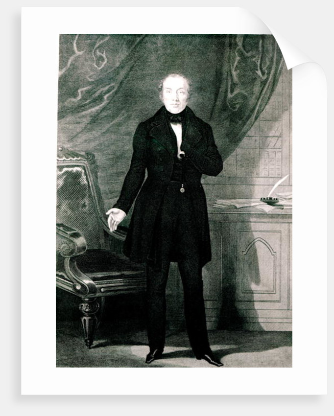 Portrait of Mr. Feargus O'Conner by English School