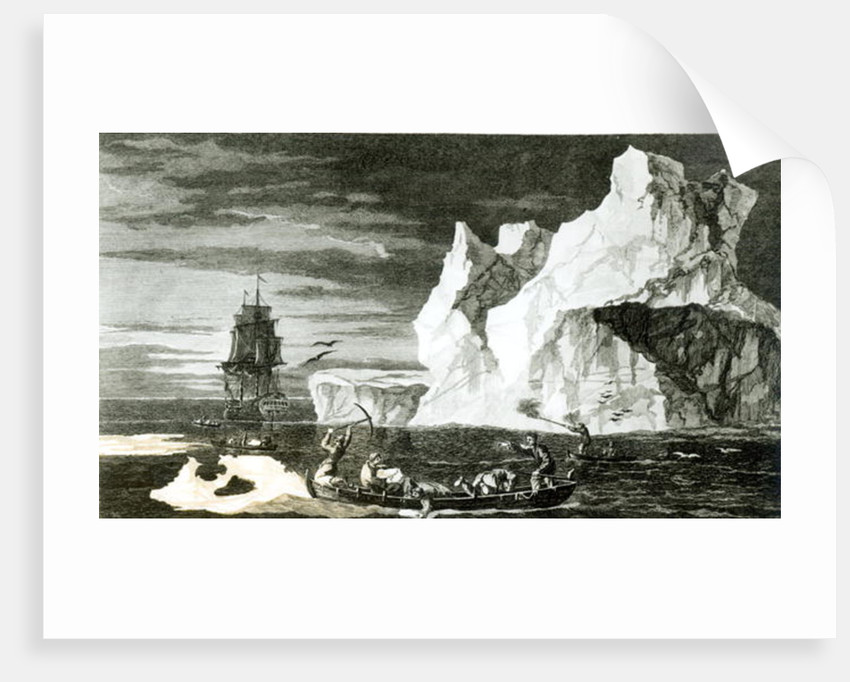 The Ice Islands on the 9th January 1773 by William Hodges