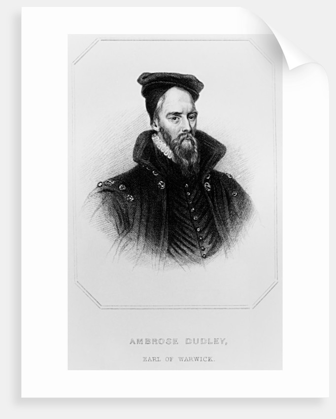 Ambrose Dudley by English School
