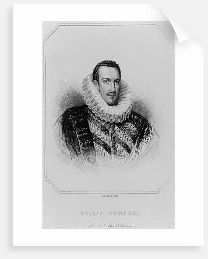 Portrait of Philip Howard 13th Earl of Arundel by English School