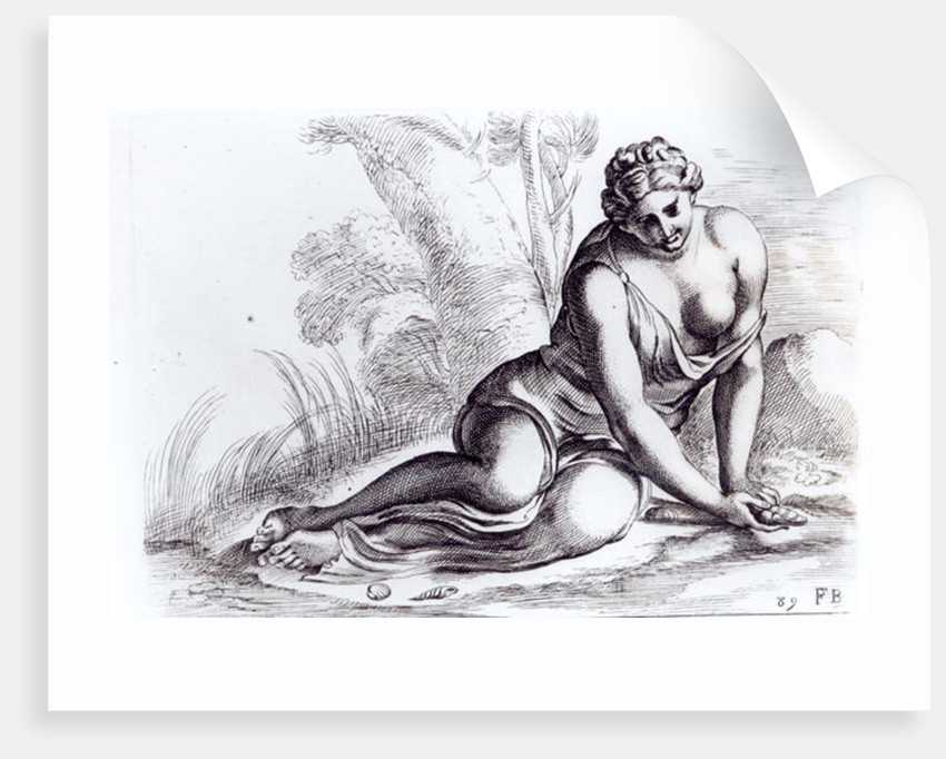 Venus in the Borghese Gardens by Francois Perrier