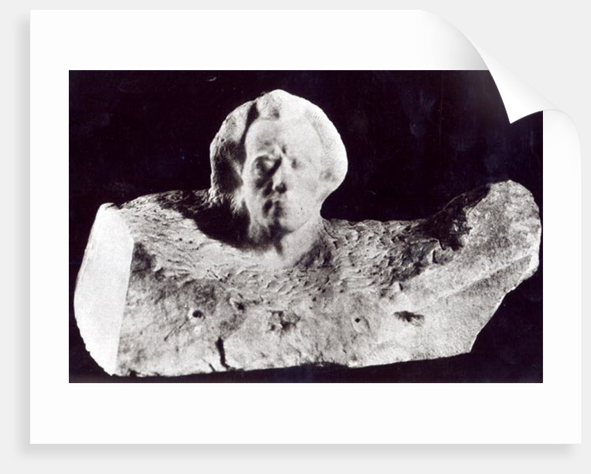 Mozart (Portrait of Mahler) by Auguste Rodin