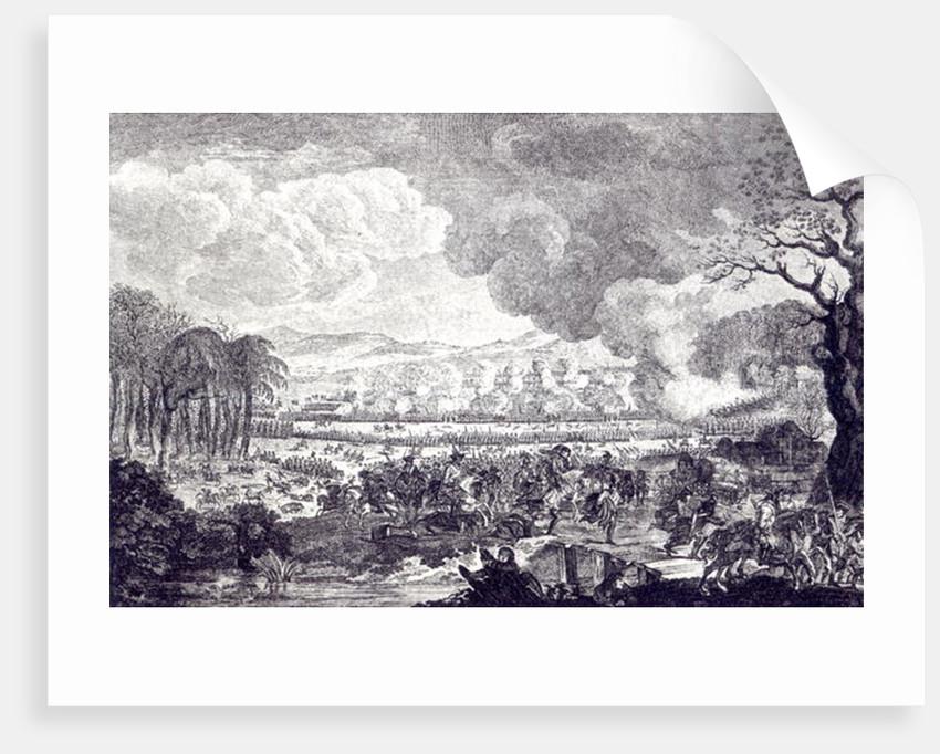 Battle of Rossbach, November 5th 1757 by German School
