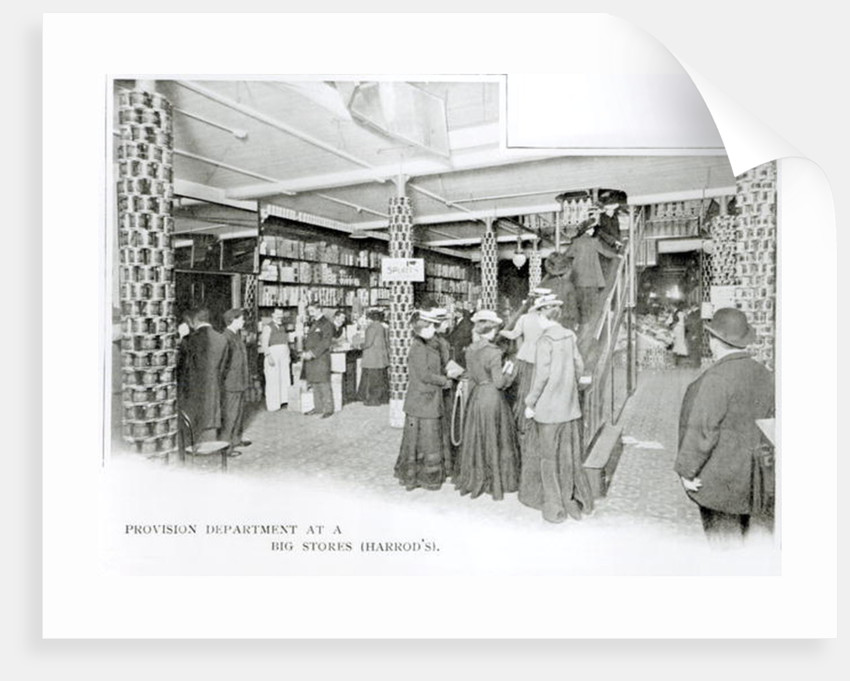 Harrods Provision Department by English Photographer