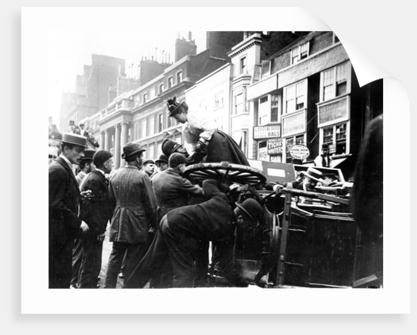 A Street Accident by English Photographer