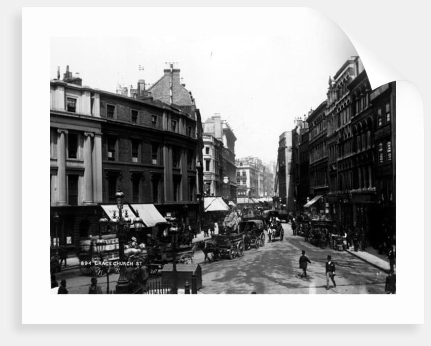 Gracechurch Street, London by English Photographer