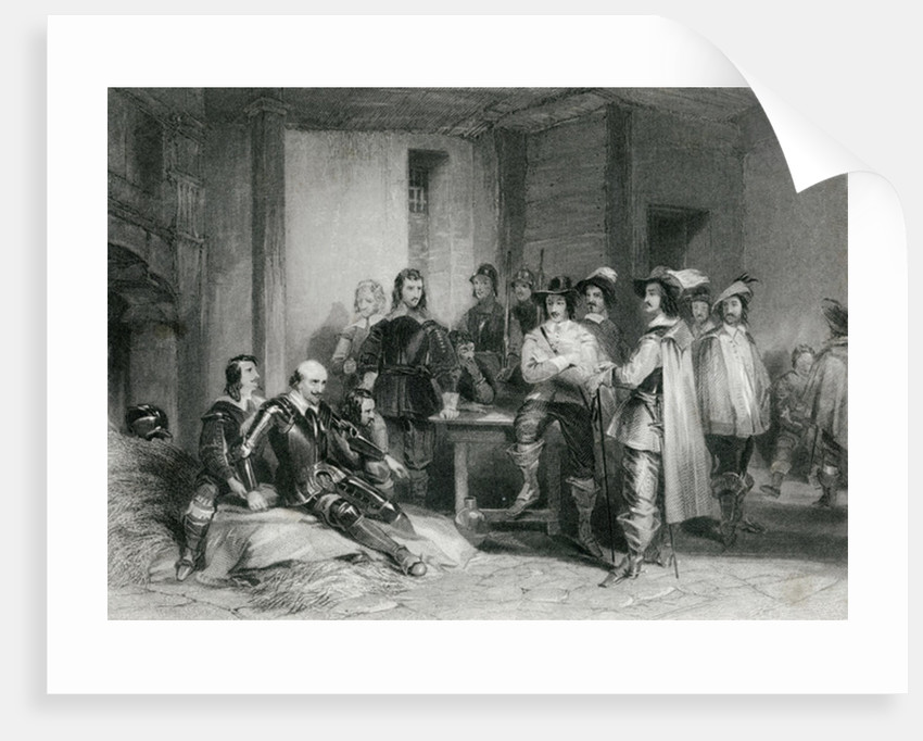Death of the Earl of Lindsey by George Cattermole