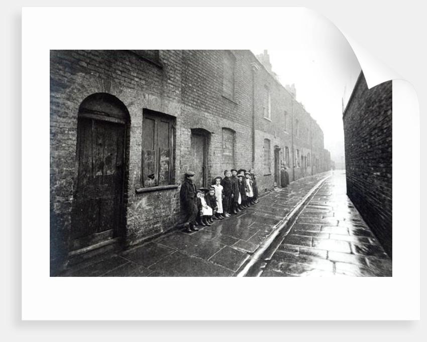 London Slums by English Photographer