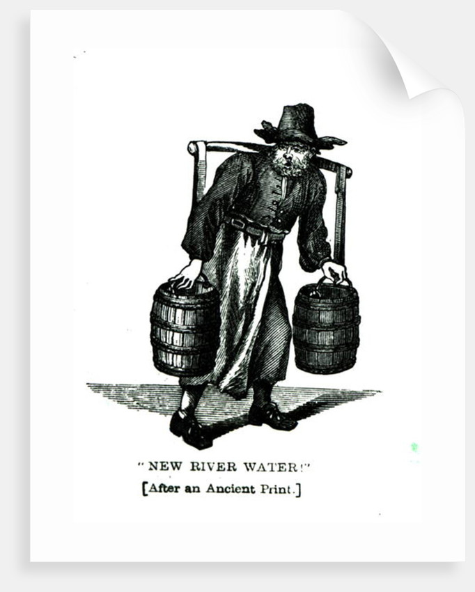 A Water Carrier by English School