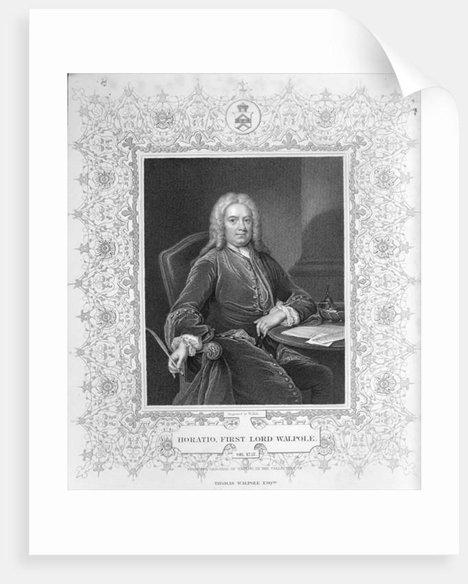 Horatio Walpole by Jean Baptiste Vanloo