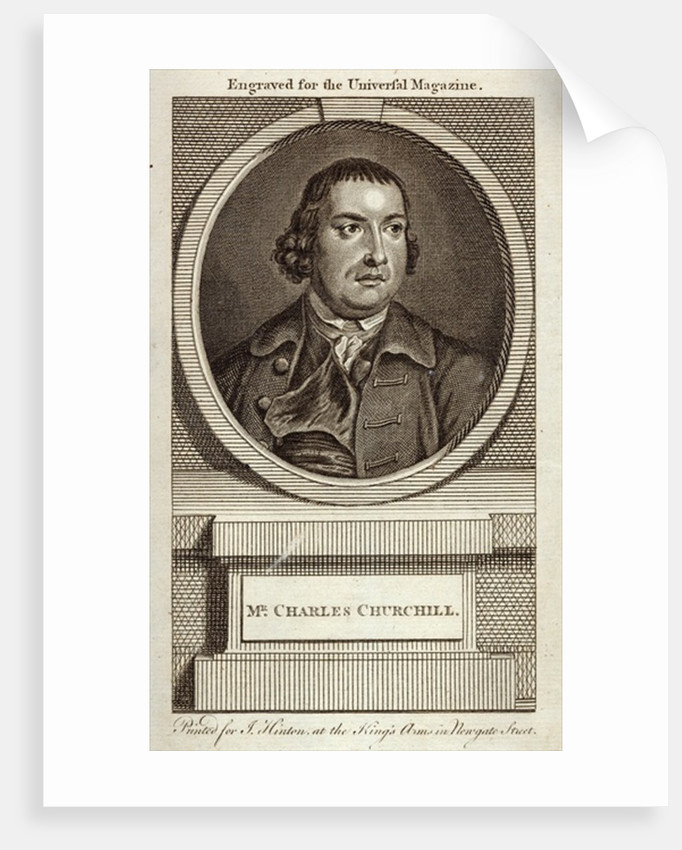 Mr Charles Churchill by English School