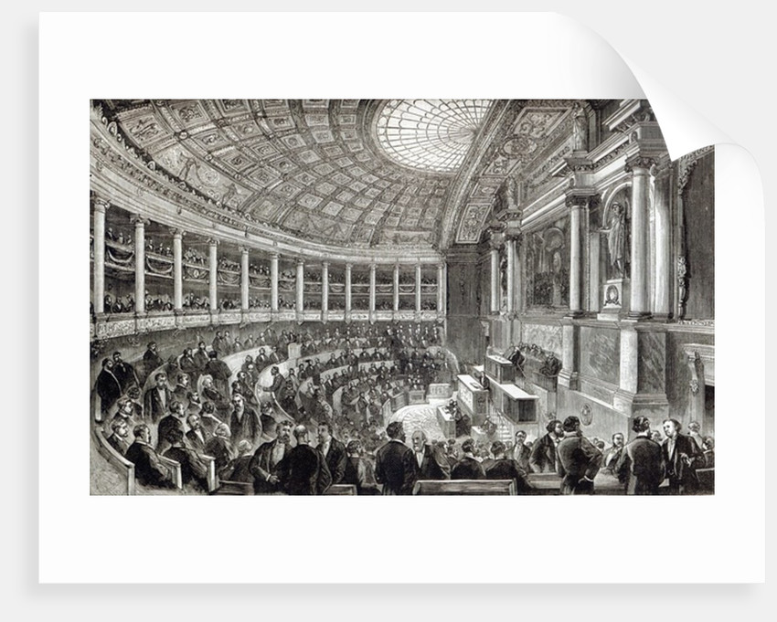 The Chamber of Deputies, Paris by English School