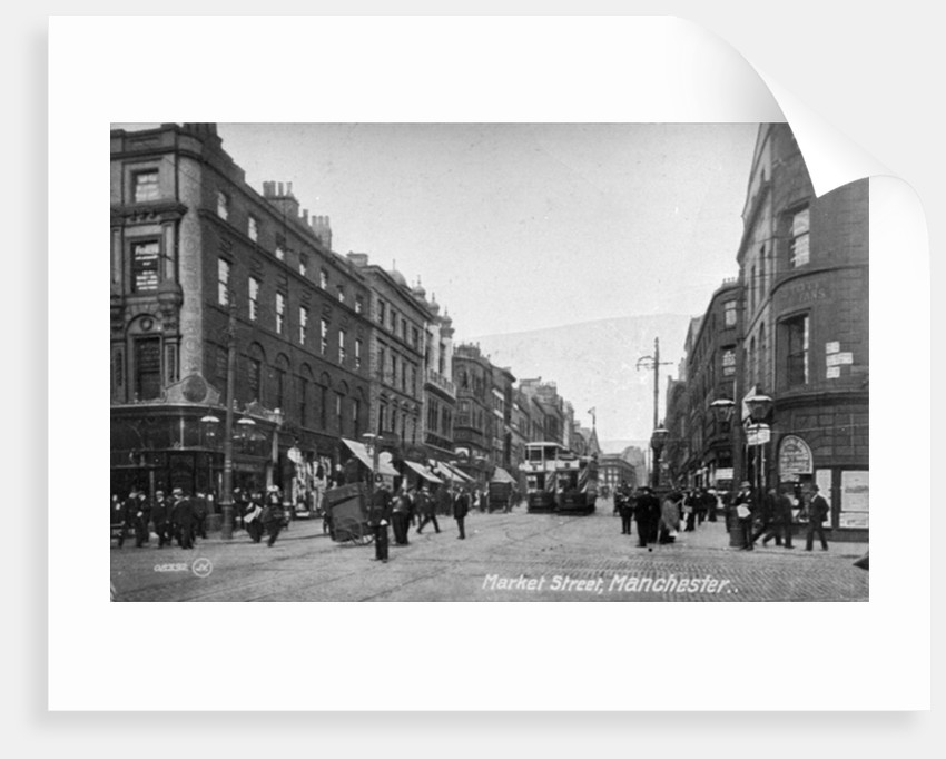 Market Street, Manchester by English Photographer
