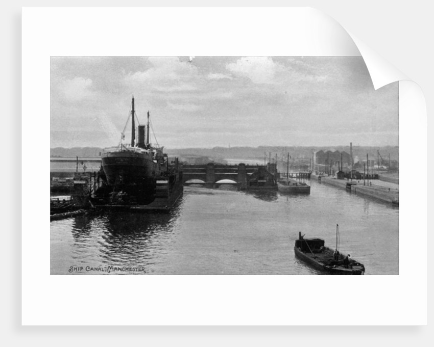 Manchester Ship Canal by English School