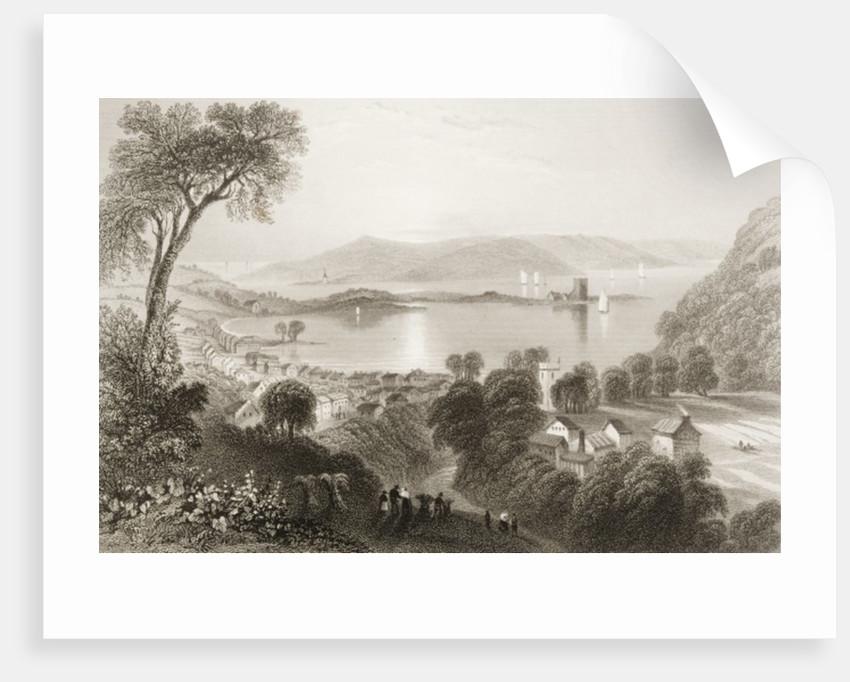 Larne, County Antrim, Northern Ireland by William Henry Bartlett