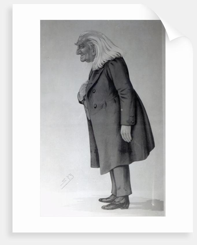 Franz Liszt by Leslie Mathew Ward