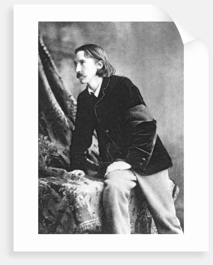 Robert Louis Stevenson by English Photographer