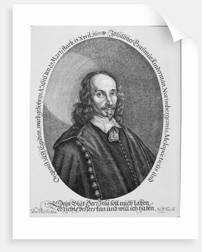 Johannes Erasmus Kindermann by Daniel Preissler