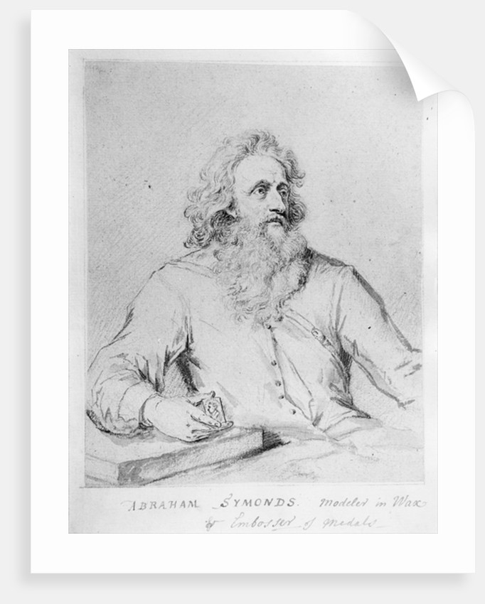Abraham Symonds, after a portrait by Sir Godfrey Kneller by George Vertue