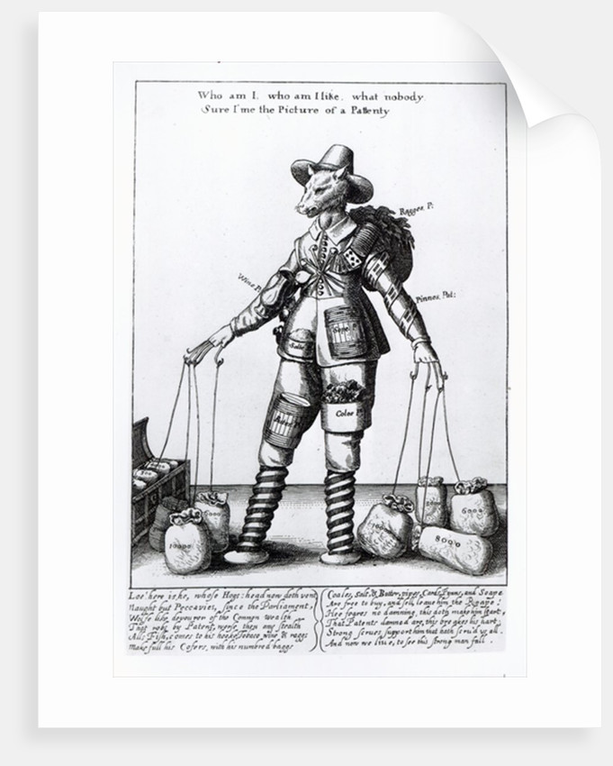 'The Picture of Pattenty' by Wenceslaus Hollar