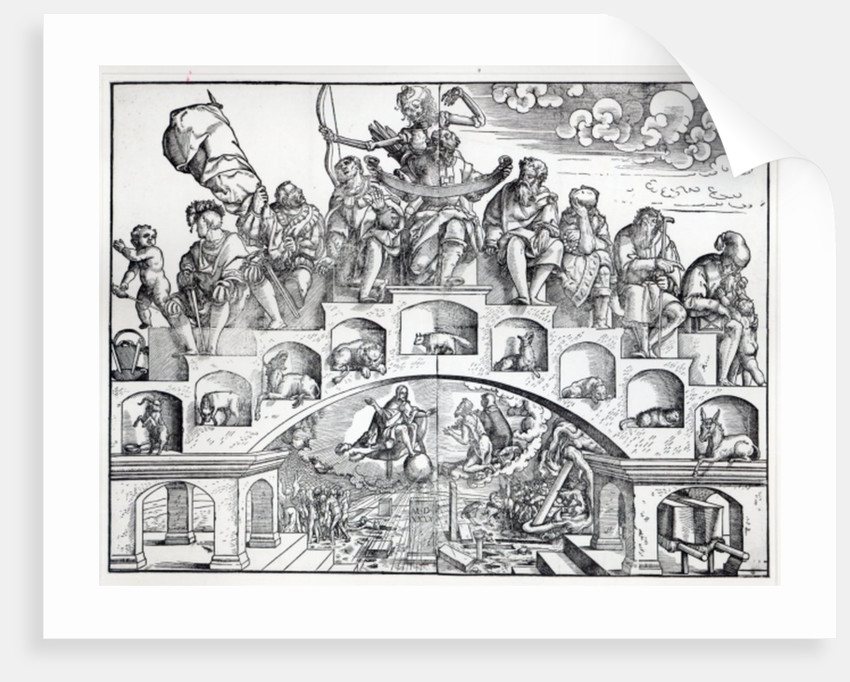 The Nine Ages of Man by Jorg II Breu