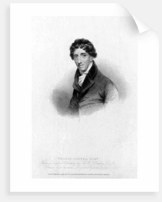 Thomas Coutts, Esq. by Sir William Beechey