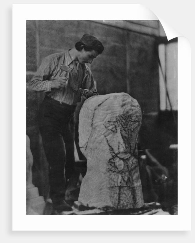 Henri Gaudier-Brzeska by English Photographer