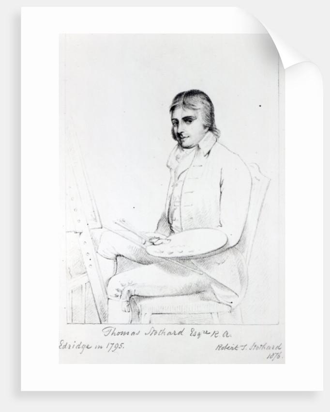 Thomas Stothard Esq. RA by Henry Edridge