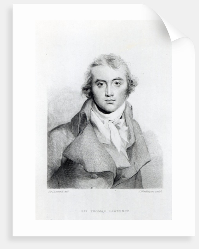 Self Portrait by Sir Thomas Lawrence