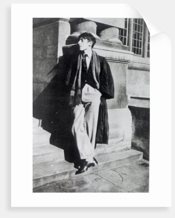 Louis MacNeice during his time at Oxford by English Photographer