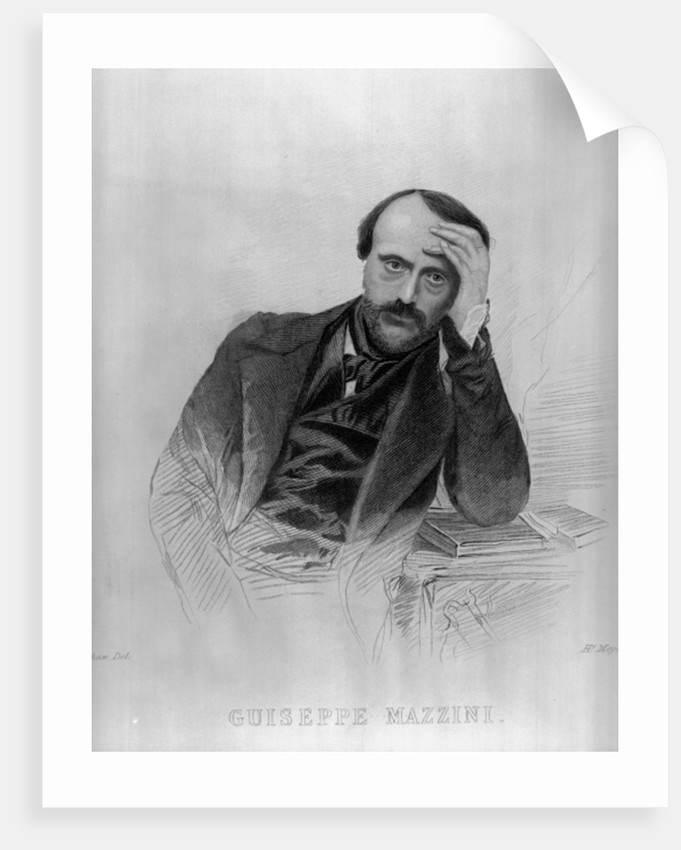 Giuseppe Mazzini by English School