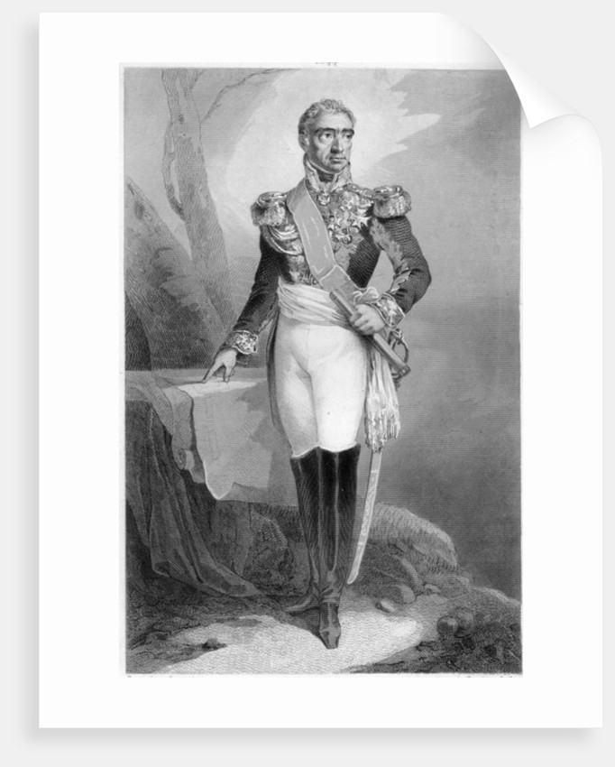 Auguste Frederic Louis Viesse de Marmont, Duke of Ragusa and Marshal of France by French School