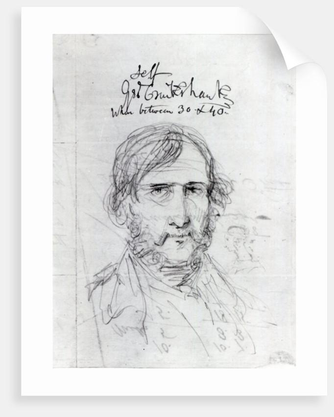 Self portrait by George Cruikshank