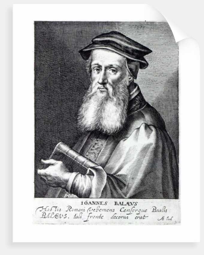 John Bale, Bishop of Ossory by Magdalena de Passe