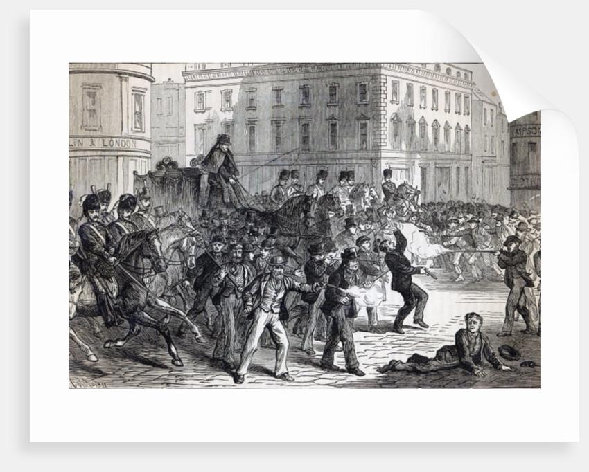 A Belfast Riot by English School