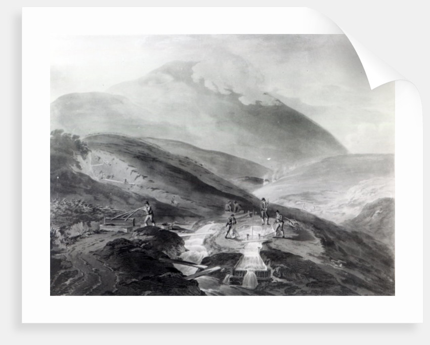 Gold Mines, County of Wicklow by Thomas Sautelle Roberts