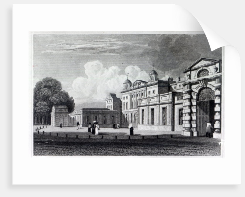 Badminton House by William Radclyffe