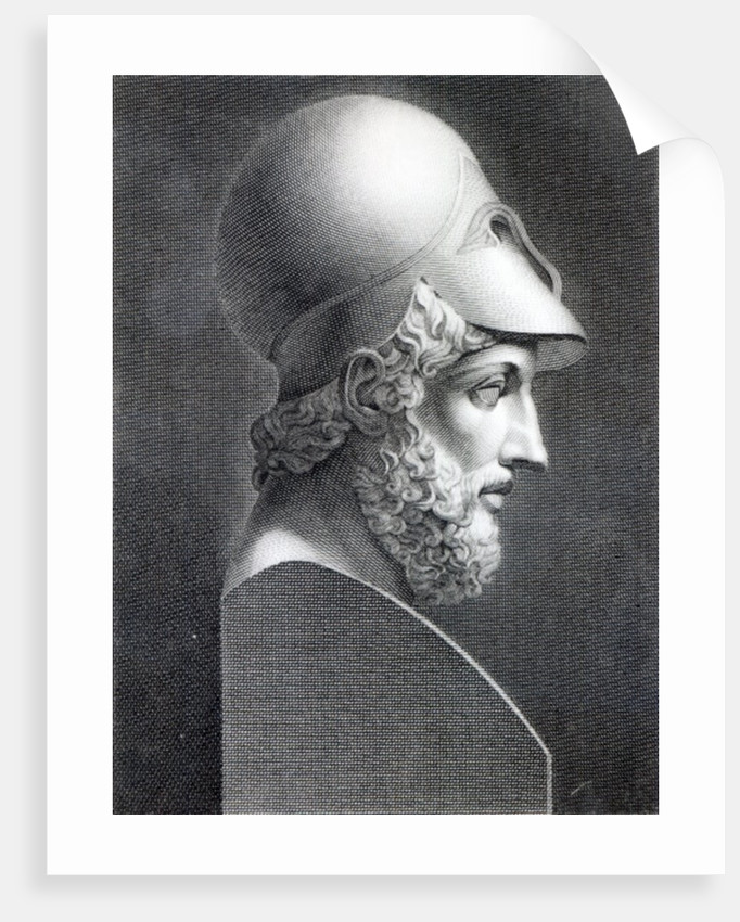 Bust of Pericles by Giuseppe Longhi